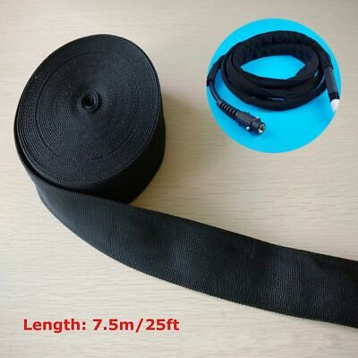 25FT Nylon Protective Sleeve Sheath Cable Cover Welding Tig Torch Hydraulic Hose • 10.88£