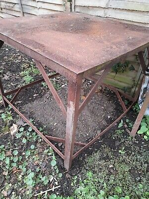 Large Welding Table/ Machine Stand . • 126£
