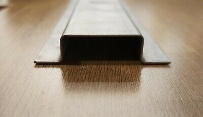 Folded Steel, Top Hat Sections, Panel Stiffeners,  Classic Car Repairs, 1mm Mild • 18.50£