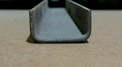 Steel U Channel, 2mm, Various Size, Classic Car, Fabrication, Stiffeners, Folded • 9£