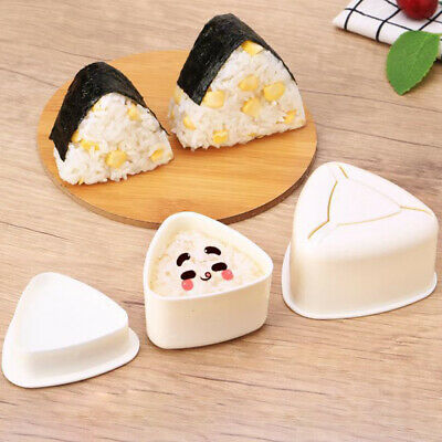 Sushi Mould, Rice Ball, Triangle Longevity Driver's Mould, Kitchen SnackLZ • 3.98£