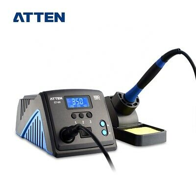 Digital Soldering Station 60 Watt Atten ST-60 Soldering Iron & Rest • 85£