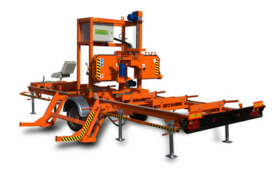 WIREX CZ-1/U MOBILE Horizontal Band Sawmill With Full Hydraulic Electric Feed  • 13,250£