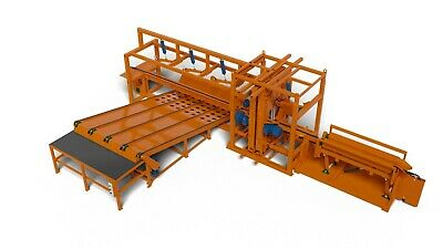 WIREX CZP-4 / IL Vertical Quadruple Band Sawmill With Collecting Feeder • 31,000£