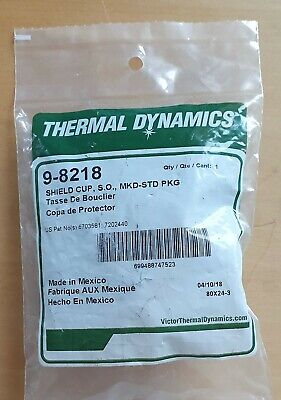 GENUINE Thermal Dynamics 9-8218 Shield Cup • 17£