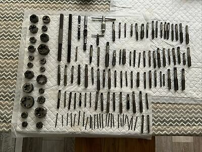 Job Lot Of Taps And Dies Plus Tap Wrenchs And Thread Files Lot27 • 120£