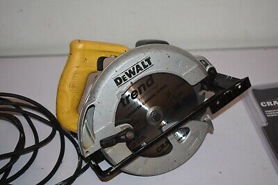Dewalt Dwe560 110v 1350w Hand Held Circular Saw.New Trend Cutter. • 3.20£