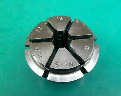 Engineers Crawford Multibore Collet M673 12mm-14mm Hexagon • 36£