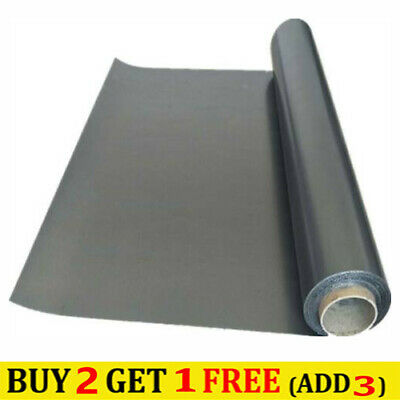 High Purity Graphite Flexible Foil Gasket Sheets Thickness 1mm 200x250mm • 8.19£