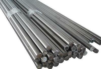 Bright Mild Steel Round Bar EN1A 4mm - 40mm Dia 100mm - 1000mm Lengths • 7.45£