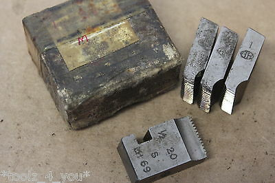 Alfred Herbert 1/2  X 20 Tpi Whitworth Form Coventry Die Chasers 3/4  Head CD240 • 24.99£