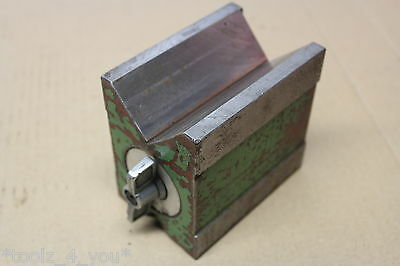 Selter 100mm X 95mm X 68mm Magnetic Vee Block In Good Condition  • 89.99£