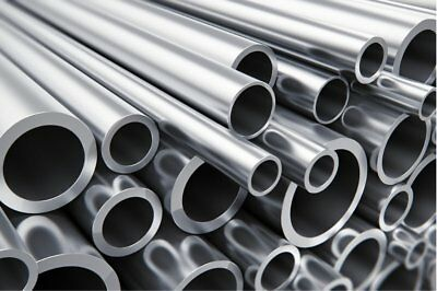 Aluminium Round Tube  Pipe  Many Sizes Lengths  Aluminum Alloy Bar Rod Strip 1 • 9.99£