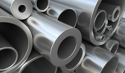 Mild Steel Precision Round Tube Pipe Many Sizes Lengths Metal Bar Rod Strip 2 • 11.99£