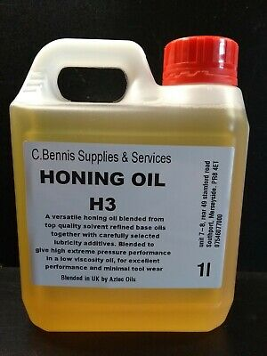 1 Ltr Highly Refined Honing Oil H3 Chisel / Knife Sharpening  • 7.56£