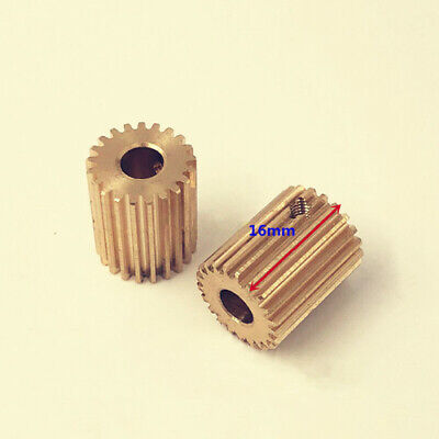 2PC Drilling Machine (EDM) Parts Motor Gear 21 Teeth Inner Diameter Φ6mm  • 15.50£