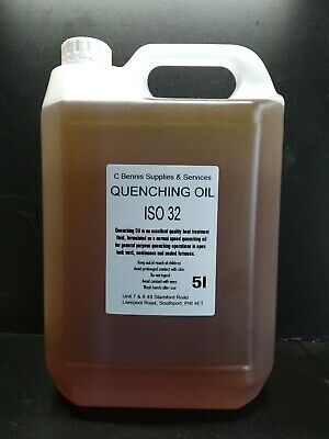 AZTEC Quenching Oil  ISO 32 5 L 5 Mineral Heat Treatment Quenching Oil • 19.99£
