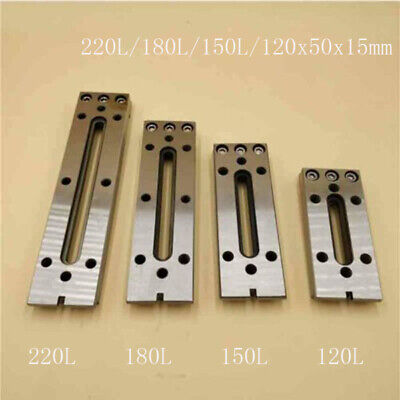 Wire EDM Fixture Board Stainless Jig Tool Fit Clamping And Leveling 12-22CM M8 • 32.84£