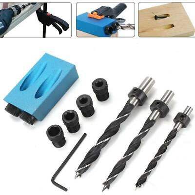14x Silverline Pocket Hole Screw Jig C/w Dowel Screw Joint Hole Drill Tools Sets • 8.99£