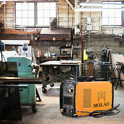 Plasma Cutter CUT50 Digital Inverter 220V Dual Voltage Cut Machine Orange • 187.99£