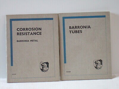 Barronia Brochures – Corrosion Resistance & Tubes • 8£