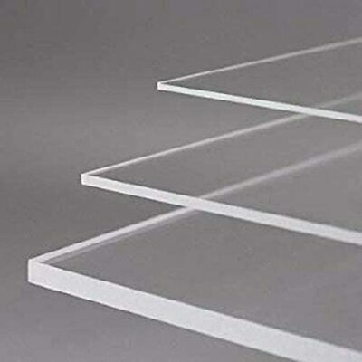 Bespoke Perspex Clear Acrylic Plexiglass Sheet Panel ANY SIZE • 20.59£