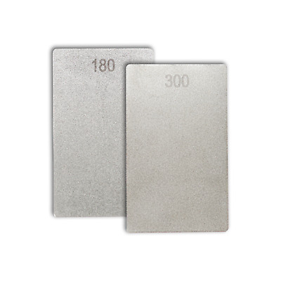 Diamond Credit Card Stone 3  X 2  -180/300 Grit By James Barry Sharpening- ECCCM • 21.97£