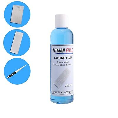 Original Formula Lapping Fluid Use For All Diamond Sharpening Stones - ELF250 • 16.99£