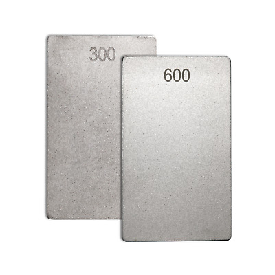 Diamond Credit Card Stone 3  X 2  -300/600 Grit By James Barry Sharpening- ECCFC • 21.97£
