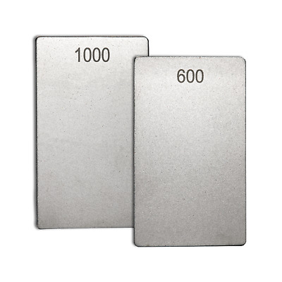 Diamond Credit Card Stone 3  X 2   -1000/600 Grit By James Barry Sharpening • 21.97£