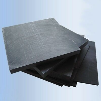 99.9% Pure 10x10cm Graphite Sheets Electrode Crafts Refractory 1-10mm Thick New • 10.99£