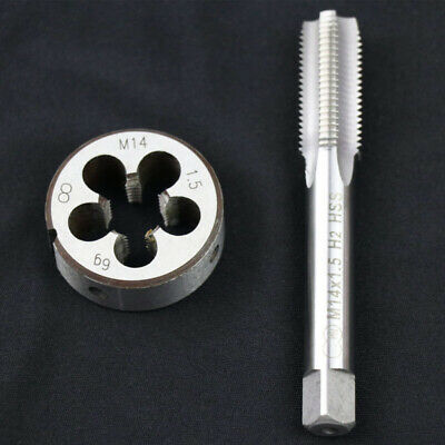 High Speed Steel M14 X 1.5mm Tap And Die Metric Thread Right Hand Accessories • 5.12£