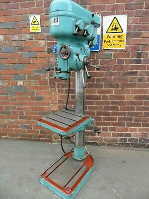 Qualter & Smith QDM1000 Gear Head Drill With Power Feed In Good Condition  • 1,800£