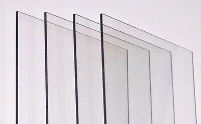Transparent Perspex Sheet Acrylic Glass Sheet Custom Cut To Size Plastic Sheet  • 15.74£