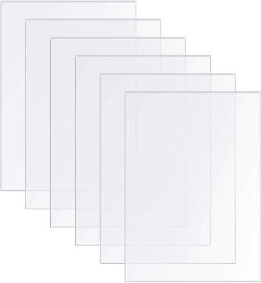 Clear Acrylic Perspex Sheet Cut To Size Plexiglas Panel Sheet Plastic Material • 19.48£