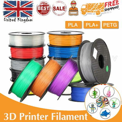 3D Printer Printing Filament 1.75mm 1KG Spool Accuracy Makerbot PETG/PLA/PLA+ • 12.99£