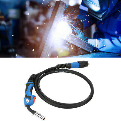 MIG/MAG Gas Shielded MB15 Welding Torch Euro StandardConnector 3m UK • 21.99£