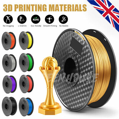 3D Printer Filament PLA PLA+ PETG Printing 1.75mm 1KG Various Colours Available • 12.99£