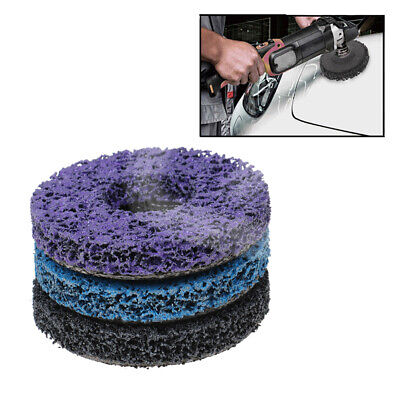 125mm Poly Strip Disc Abrasive Wheel Clean Grinding Wheels For Angle Grinde;UK • 8.13£