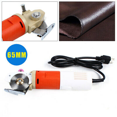 65mm Electric Cloth Cutter Fabric Cutting Machine Handheld Round Scissor Shear • 45.57£