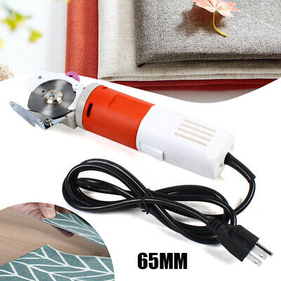 65mm Electric Cloth Cutter Blade Round Blade Fabric Leather Cutting Machine 220V • 45.58£