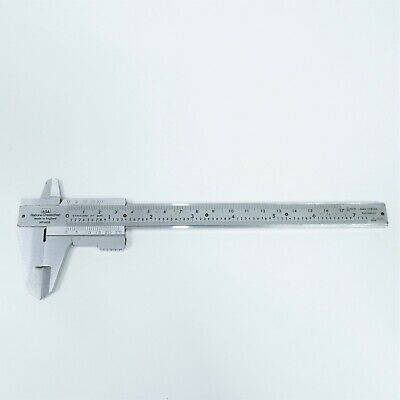 Rabone Chesterman No 600 Vernier Caliper Hard Chrome Rustproof • 19.99£