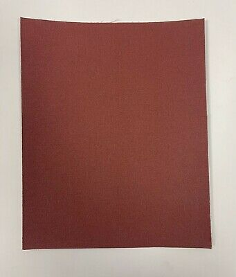 Cloth Backed Abrasive Paper 230mmx280mm (25 Sheets) • 6.25£