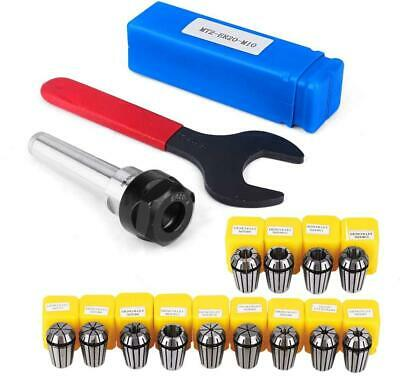 ER20 Collet Set Chuck With MT2 ER20 M10 Motor Extension Rod, Craftsman168 13pcs • 35.38£