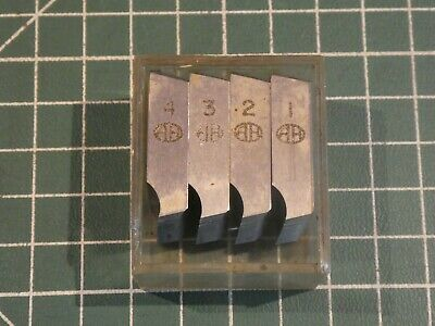 Set Of Dies /Thread Chasers~Alfred Herbert  ~ 5/8 UNF ~18 ~ S ~ 74 ~  VGC* • 5£