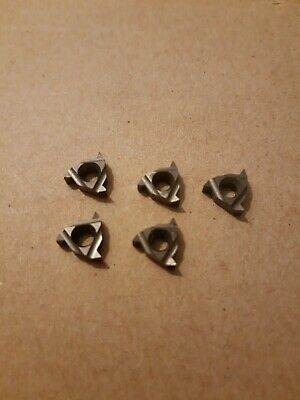 5 X STELLRAM 11IR A55 DFZ Inserts Cnc Lathe Threading Tips 55 DEG • 9.99£