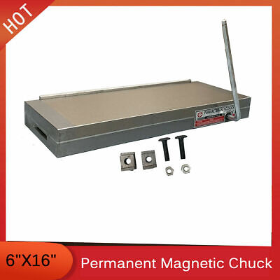 6x16 Inch Fine Pole Magnetic Chuck Machining Workholding Permanent Tool Grinder • 169.17£