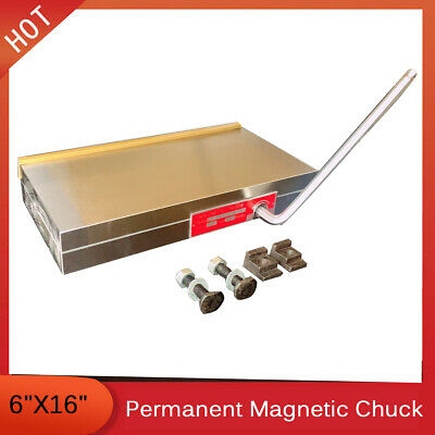 6''x16''Fine Pole Magnetic Chuck Machining Workholding Permanent Surface Grinder • 169.13£