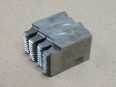 BSW British Standard Whitworth Die Set For 1 1/4  Coventry Die Head • 20£