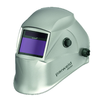 Parweld XR938H TRUE COLOUR Large View Light Reactive Weld & Grind Helment Silver • 64.99£